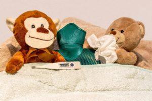 普通の風邪とインフルエンザの違い