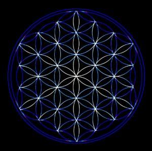 神聖幾何学模様1